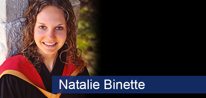 Natalie - Biomedical Student profile